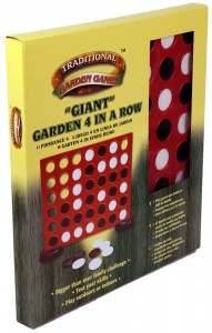 Giant Connect Four In A Row Garden Game